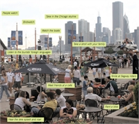 10 activities highlighted in one Navy Pier photo